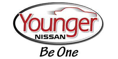 Younger Nissan logo