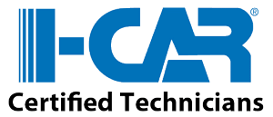 I-Car Certified Technicians logo